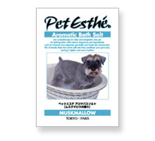 Pet Esthé Aromatic Bath Salt Moschusmalvenduft